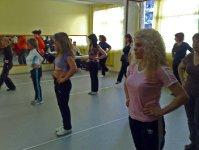 Урок по народни танци